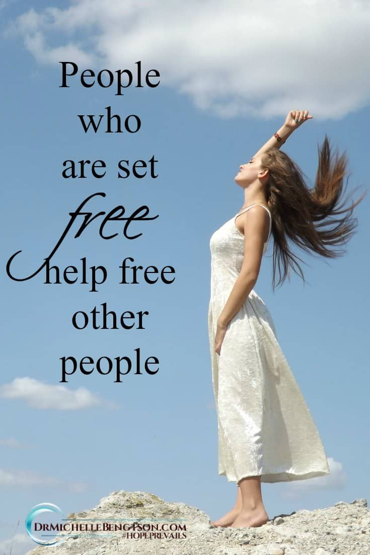 Hurt people hurt other people out of their own wounding. But, freed people help free other people. Read more here for 10 affirmations to speak over your loved one when they are depressed. #depression #mentalhealth