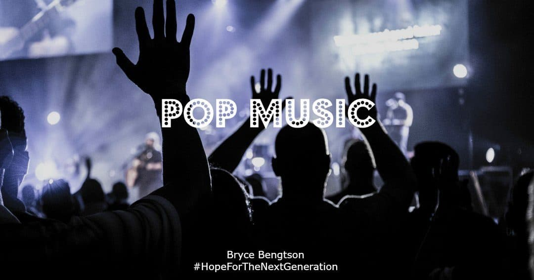 I love the genre of Pop music but not necessarily the words. My favorites are the songs where the words offer hope.