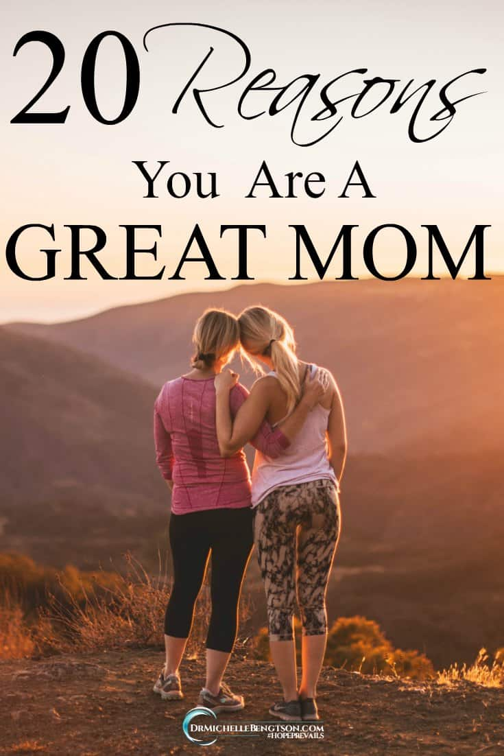Your children were a gift to you from God and you were a gift to them! You're a great mom. #mothers #MothersDay #encouragement