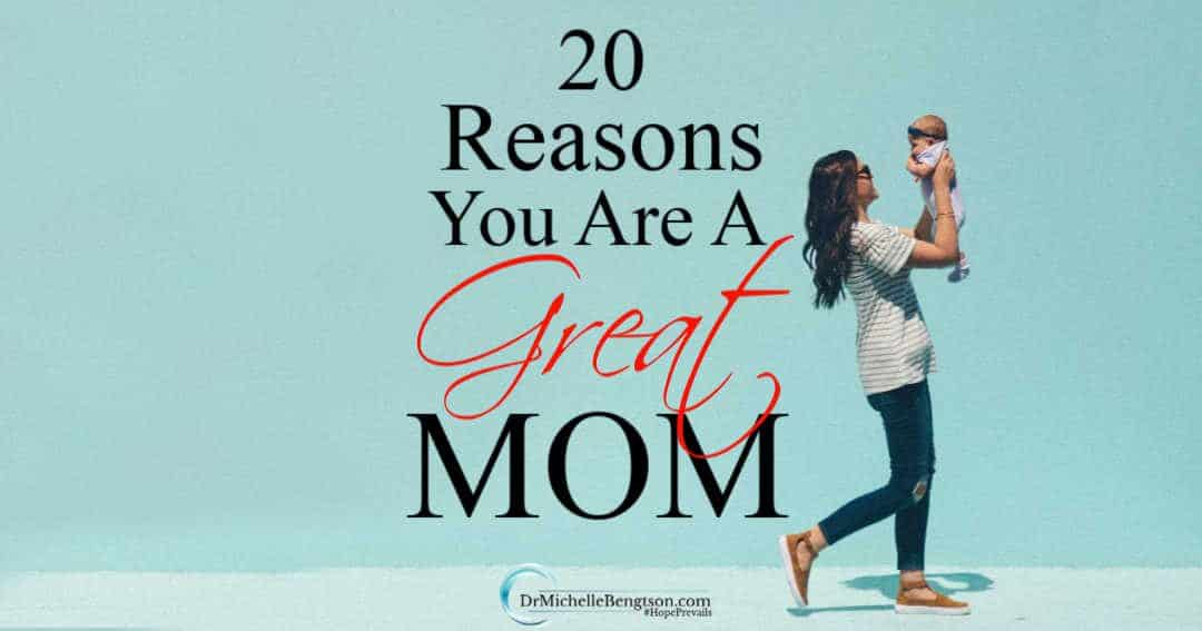 You are a great mom with gifts from God to guide, steward and love the children He gave you.