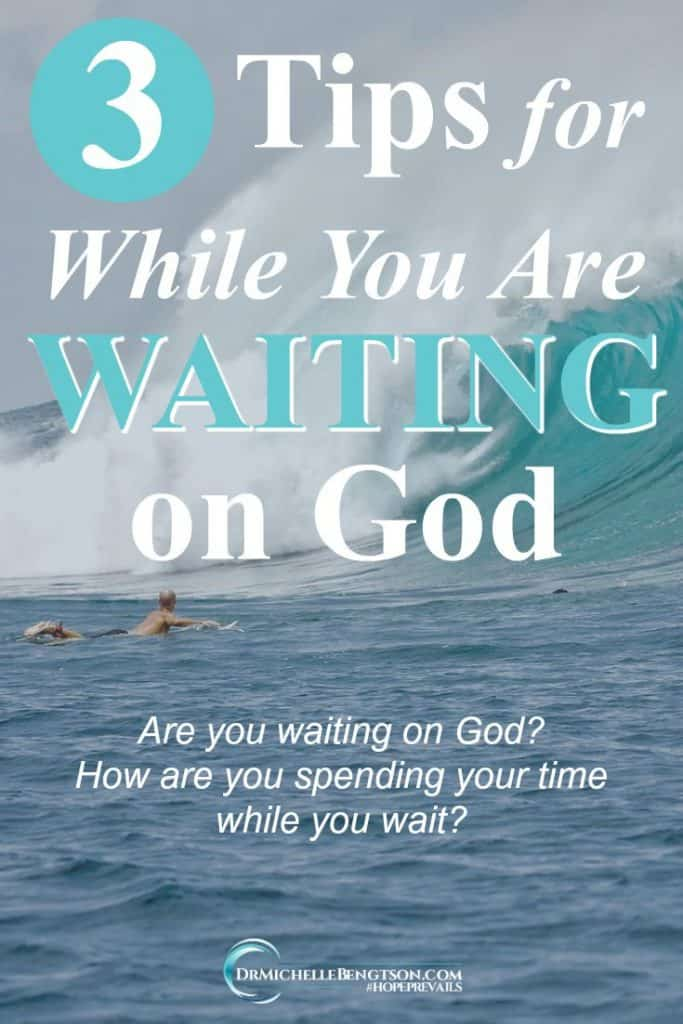 Waiting on God? He gives us time to get the training, experience, and knowledge to execute the task He calls us to do. #WaitingOnGod #inspiration #Christianity