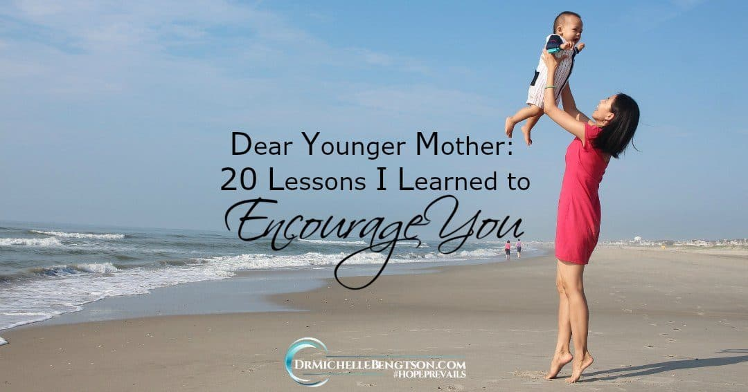 Lessons I've learned that offer encouragement to the hearts of younger mothers.