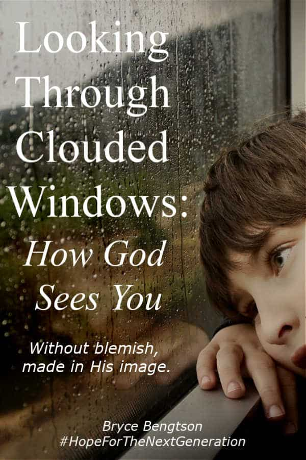 How God sees you - without blemish, made in His image.  #Christian #hope #faith #encouragement