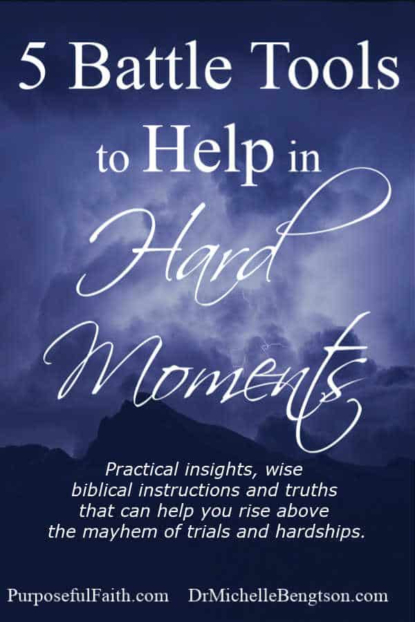 Practical insights, wise biblical instructions and truths that can help you rise above the mayhem of trials and hardships. #hope #faith #Christianity