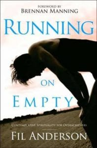 Running On Empty: Contemplative Spirituality for Achievers, a book on overcoming spiritual burnout.