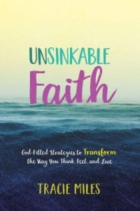 Unsinkable Faith: God-Filled Strategies to Transform the Way You Think, Feel, and Live, a book when you need help ridding negativity from your life.