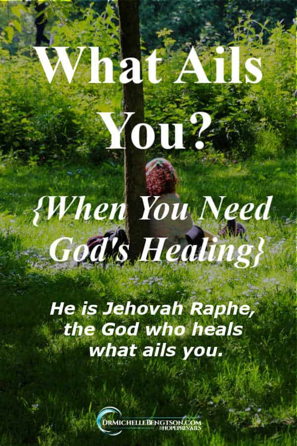 What do you need healing for today? Allow God to search you. He's Jehovah Raphe, the God who heals. #healing #faith #Christianity