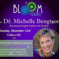 Dr. Michelle Bengtson was interviewed on Bloom Today of CTNTV