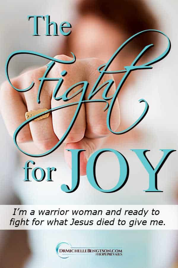 I'm a warrior woman and ready to fight for what Jesus died to give me. #joy #faith #hope #HopePrevails