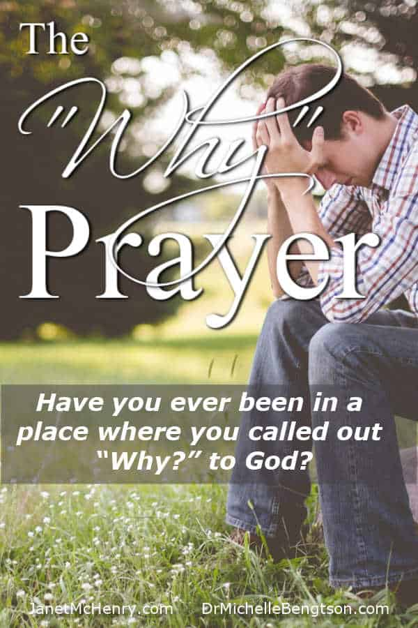 "Have you ever been in a place where you called out ""Why"" and wondered if it's OK to pray that way? #prayer #faith #God"