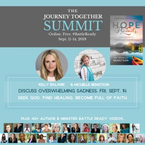 Recovering Our Joy with Dr. Michelle Bengtson and Kelly Balarie on The Journey Together Summit