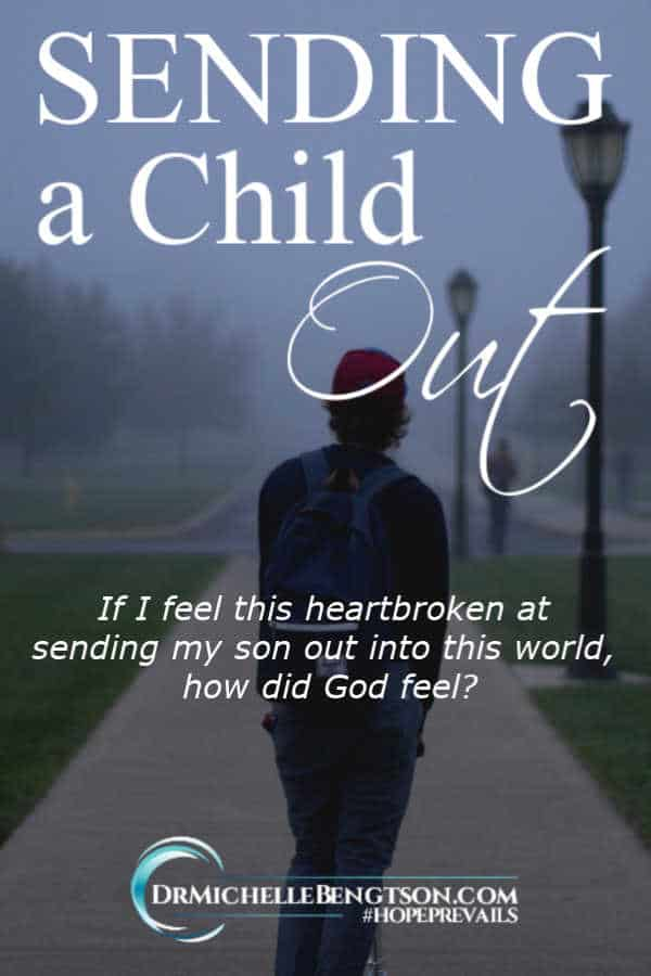 Pin I sent my child out into the world. I had no idea how hard it would be to watch him walk away as he began a new life 1500 miles away. #encouragement #faith #hope