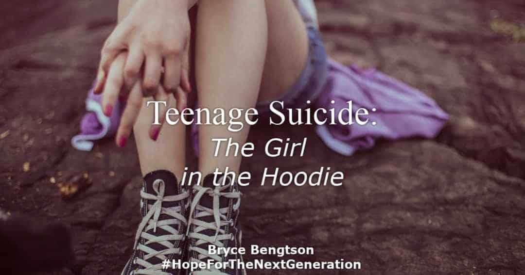 Teenage Suicide: The Girl in the Hoodie