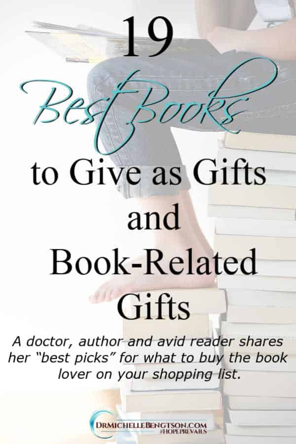 "A doctor, author and avid reader shares her ""best picks"" for what to buy the book lover on your shopping list."