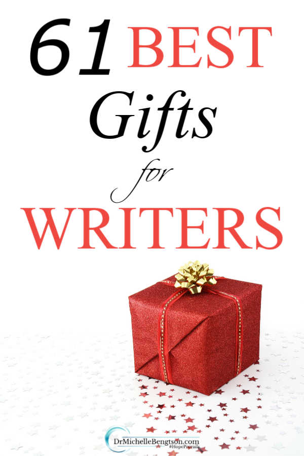 As an author, and one who has many writer friends, I curated this list of my top recommendations for the best gifts for writers. These great gifts are unique, practical and useful. Good for Christmas and all throughout the year. #Christmas #gifts
