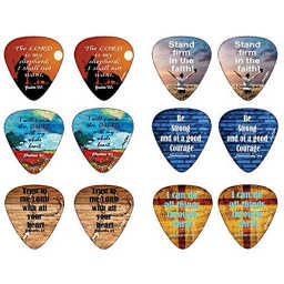 Christian guitar picks for music lovers