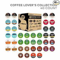 Make sure your writer is never without inspiration or caffeine with this 40 count k-cup variety pack of coffee.