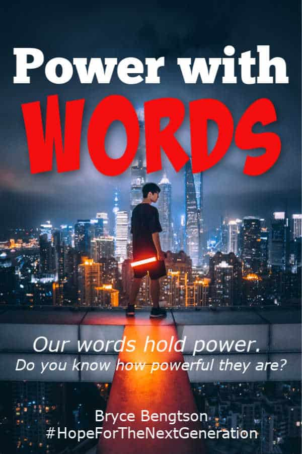 Many know that our words hold power. But few know just how powerful they can be.
