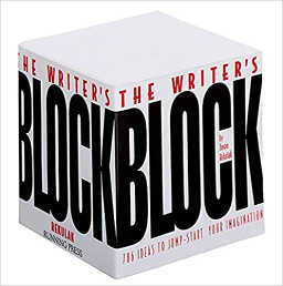 Writer's Block paper with 786 ways to jumpstart the writer's imagination.
