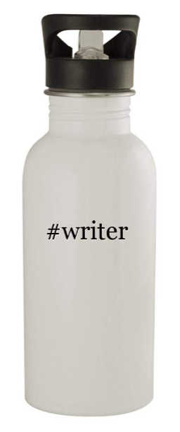20 oz stainless steel water bottle for the writer.