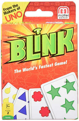 "Blink - touted as ""The World's Fastest Game"", perfect for travelling"
