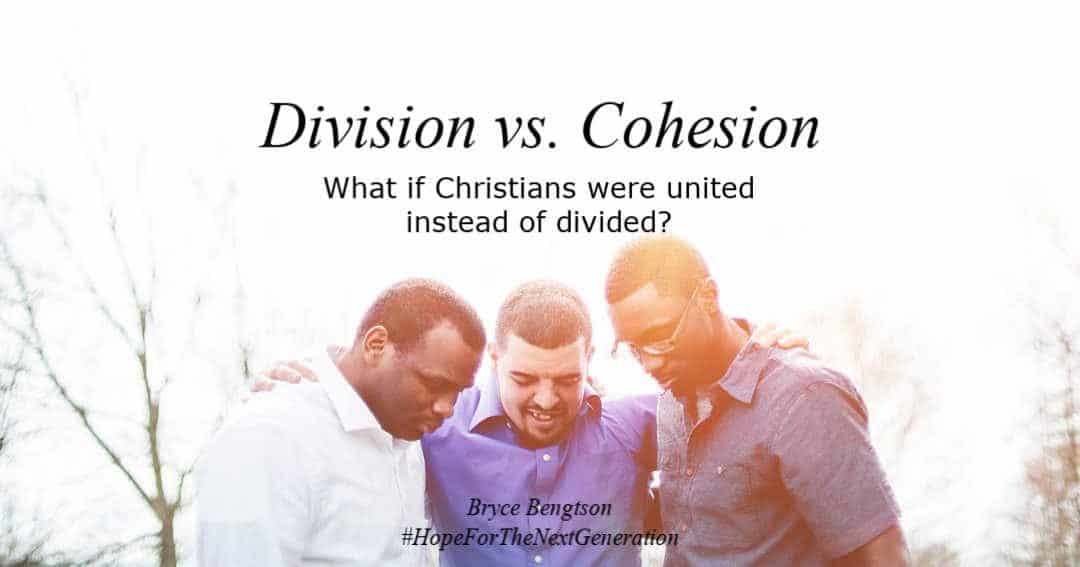 When you look around, what could change if Christians could unite with one another?