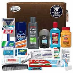 Men's premium necessities travel kit
