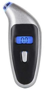 Tire pressure gauge, digital, easy to read