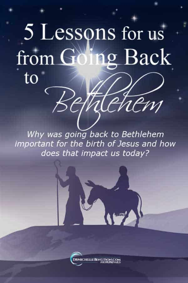 Why was going back to Bethlehem important for the birth of Jesus and how does that impact us in modern times? #Jesus #Christmas