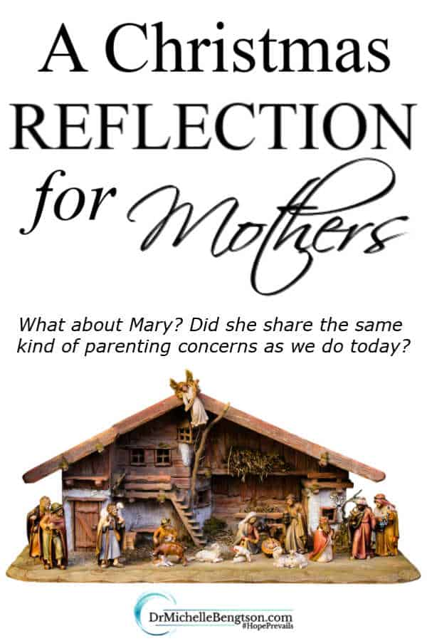 Have you ever doubted your capabilities as a mother? Have you done enough? I wonder if Mary had the same parenting concerns as we do today? #Christmas #parenting