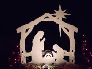 The birth of Jesus in Bethlehem