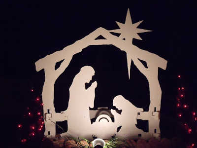 The birth of Jesus in Bethlehem
