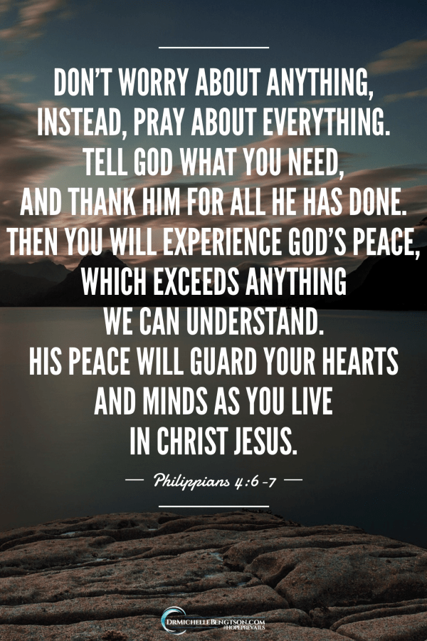 What I really want for Christmas this year is peace. Philippians 4:6-7 shows us how we obtain God's peace. #BibleVerse #inspirationalquote
