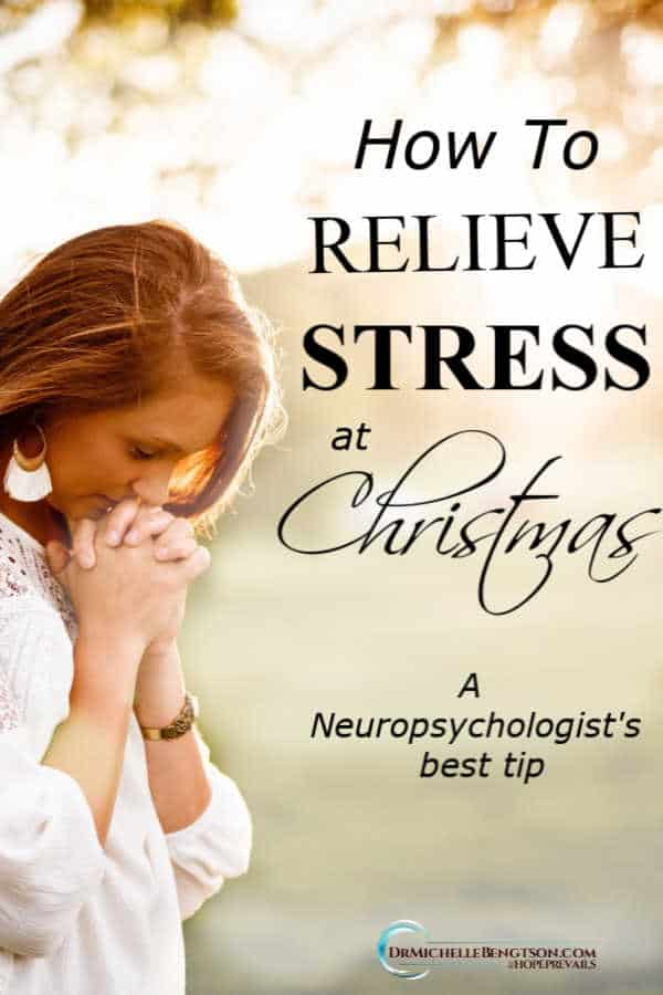 As a neuropsychologist, I have spent decades problem solving with patients. This is what I use to de-stress at Christmas and through the year. #stress #anxiety #mentalhealth