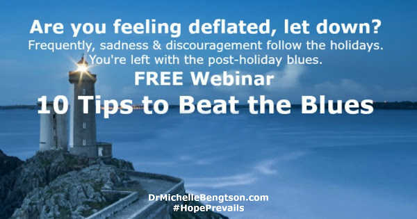 Free Resource! Webinar with 10 tips to beat the post-holiday blues