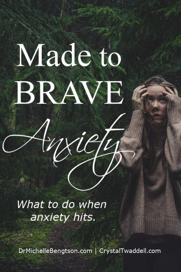 Living a life of worry, fear and anxiety makes us miserable. We were made to brave anxiety and live a life of peace. Read more for what to do when anxiety hits. #anxiety #mentalhealth