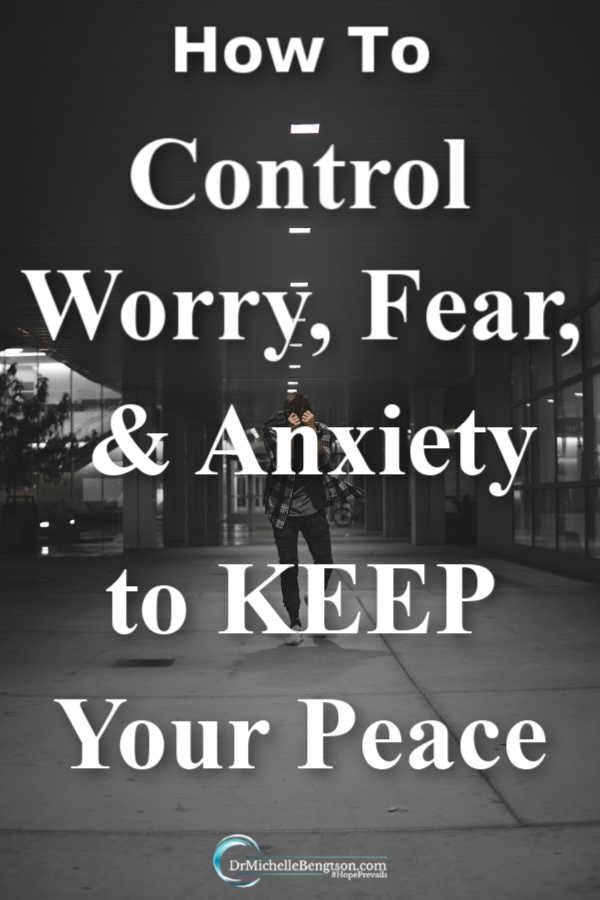 One of the ways the enemy attempts to steal our peace is by bringing about worry, fear, and anxiety. Don't leave an open door for the enemy! Fight back against his tactics with these tips.