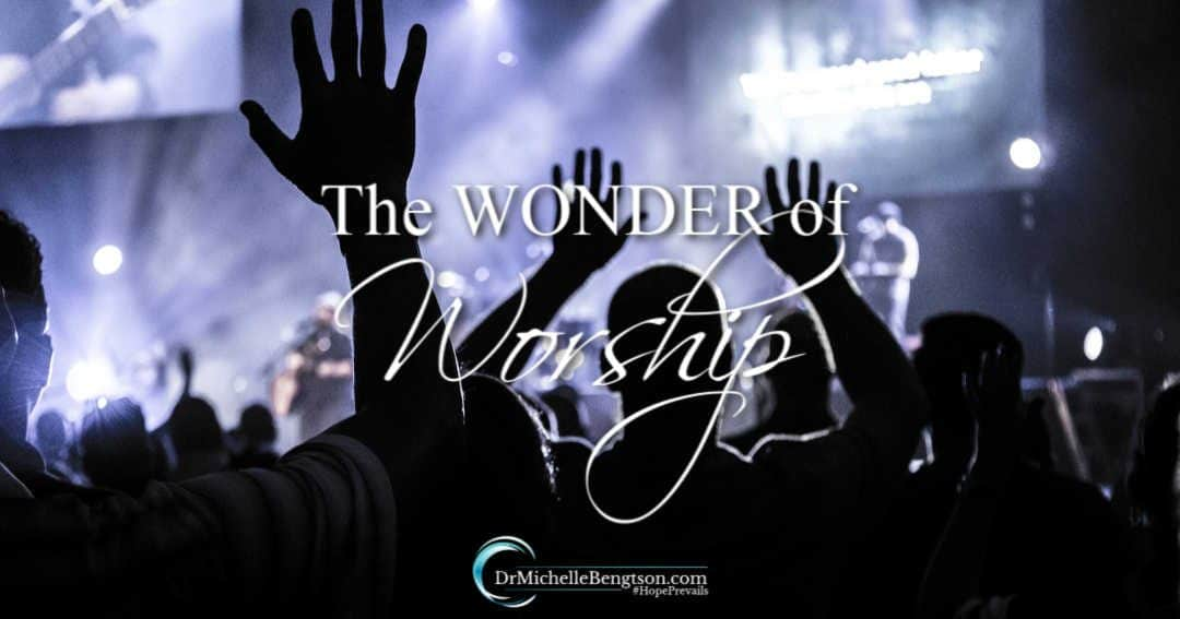 In the wonder of worship, the tiny offering we make is deemed worthy of a king.