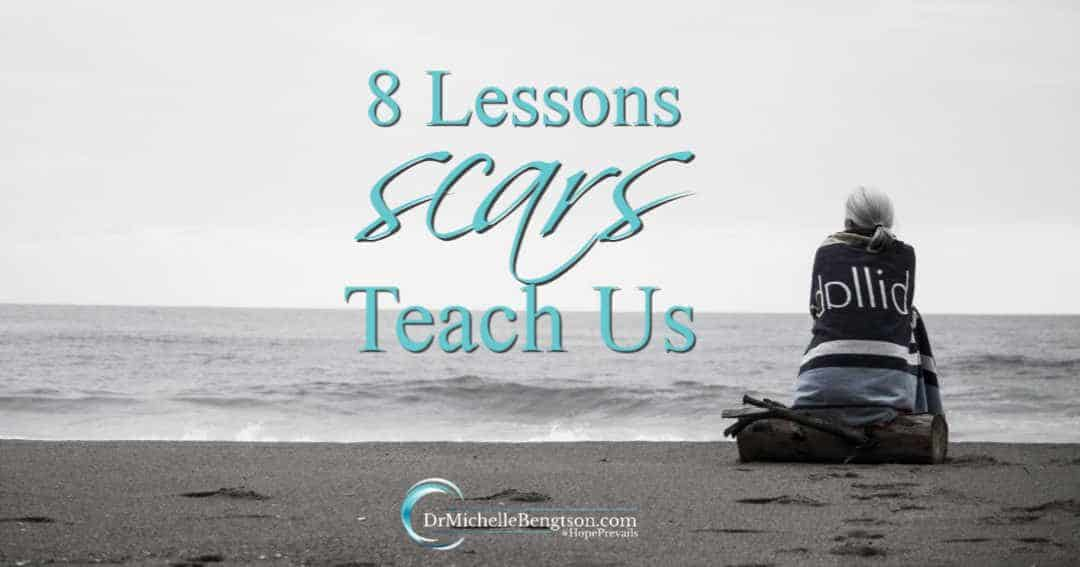 Lies and truths behind our scars show the lessons scars teach us.