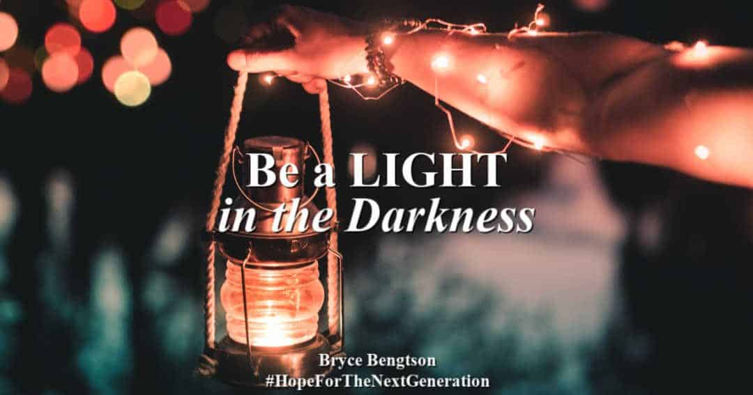 Ways to be a light in the darkness