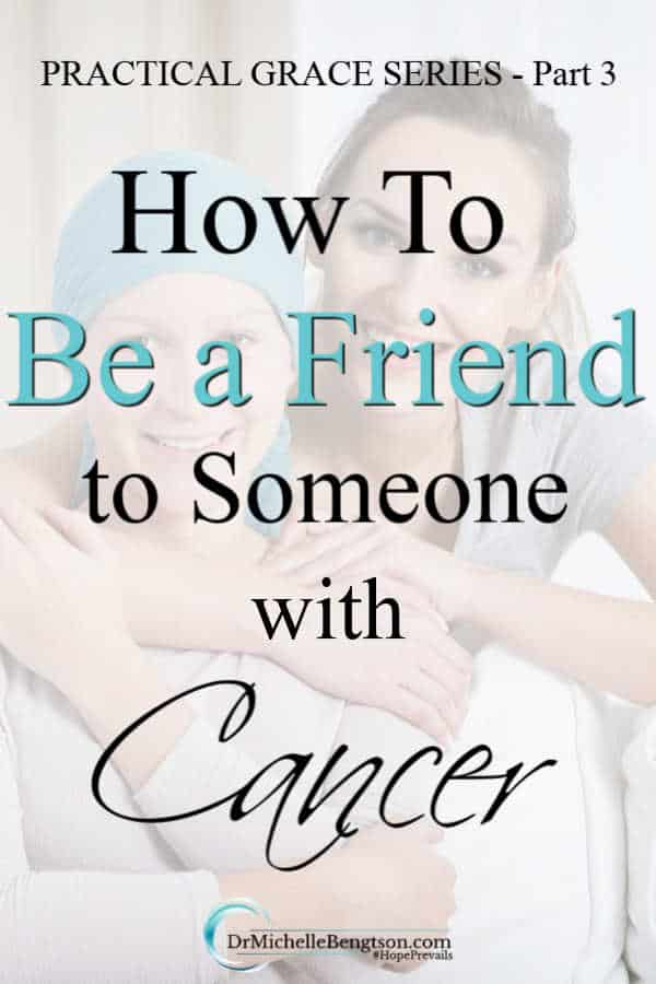 When your loved one or friend is diagnosed with cancer, what do you say? What can you do to be a good friend to them? Read more for 18 tips a doctor shares to help others know how to be a friend to someone with cancer. #cancer