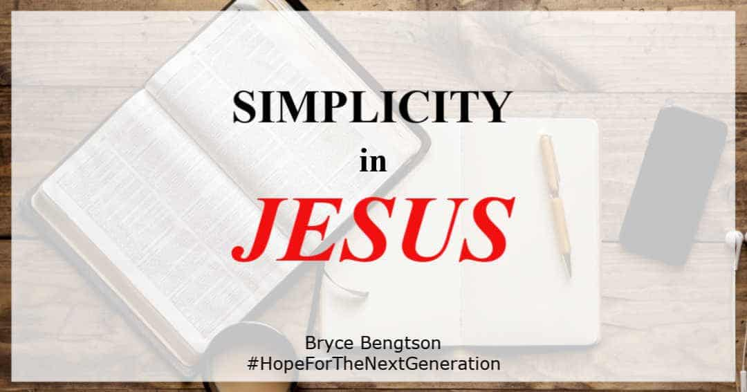 Have you ever wondered why Jesus spoke in such a simple way?