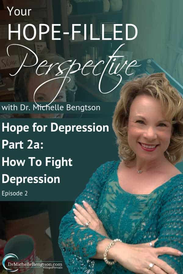 Neuropsychologist Dr. Michelle Bengtson helps listeners learn how to fight depression. The enemy seeks to steal our joy, kill our peace, and destroy our identity. Learn more about the limits God sets and the hope for those experiencing depression on this episode of Your Hope-Filled Perspective.