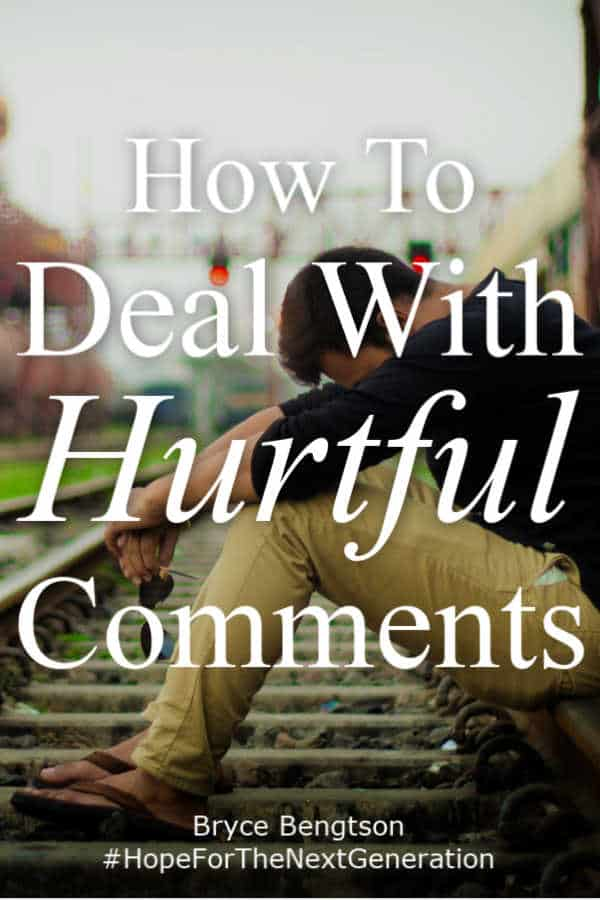If someone makes a comment that hurts us, it's our instinct to lash back out in a fight or flight response. Is that the right way to deal with hurtful comments? Read more for one way to turn an enemy into a friend.