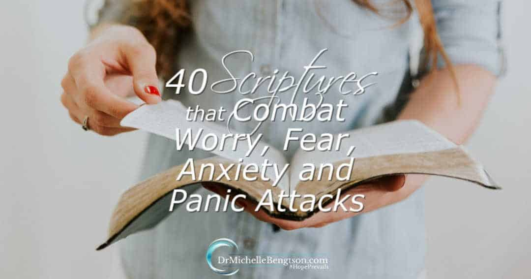 Your Rx: 40 Scriptures that Combat Worry, Fear, Anxiety and Panic