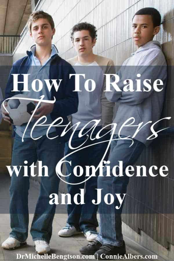 As a parent of teen boys, I long to know how to raise teenagers with confidence and joy. What do you do when your parenting style doesn't work anymore? Learn how to parent in a way that builds your relationship. #parenting #teenagers