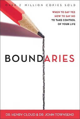 In Boundaries, learn how to take control of your life by knowing when to say yes and how to say no.