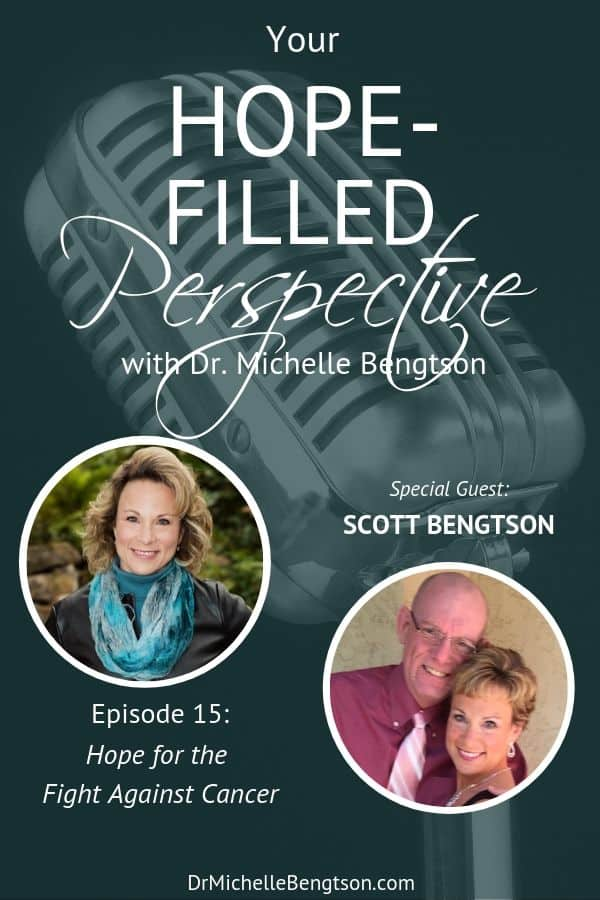 Have you ever gone through an unanticipated difficult trial? Or, been given a medical diagnosis that turned life upside down? In this episode, I speak with Scott Bengtson, a 3 time cancer survivor, about how to maintain hope in the fight against cancer.