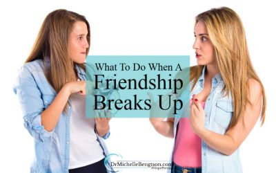 What to Do When a Friendship Breaks Up