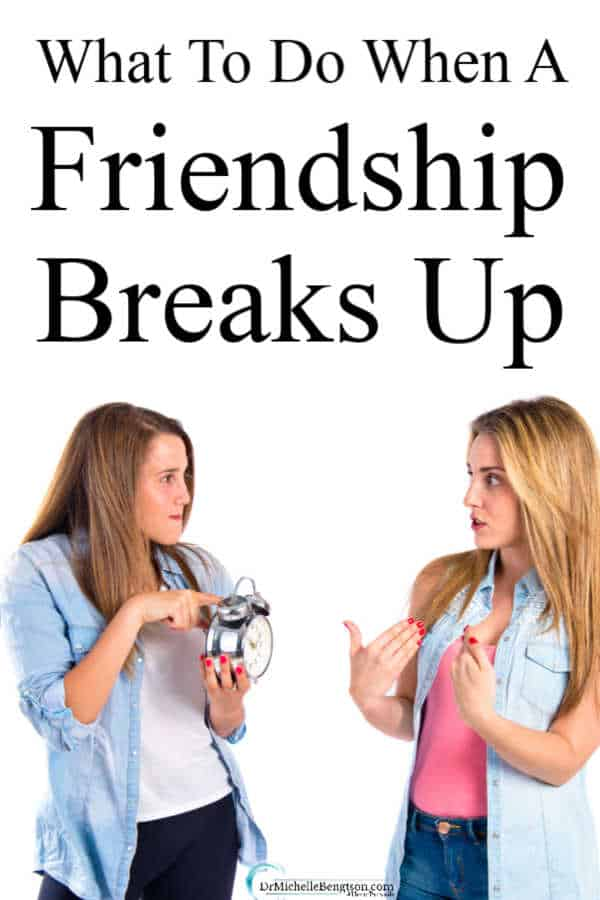Read more for 11 reasons why friendship breakups are often more painful than romantic relationship breakups and 14 tips on what to do when a friendship breaks up.